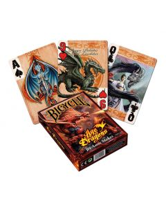 Anne Stokes Age of Dragons Playing Cards Dragons De retour en stock Artist Collections
