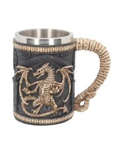 Dragon Remains Tankard 15cm