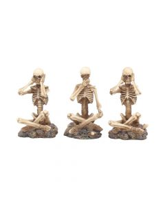 See No, Hear No, Speak No Skeletons(Set 3)8.5cmP6 Skeletons Skeletons Value Range