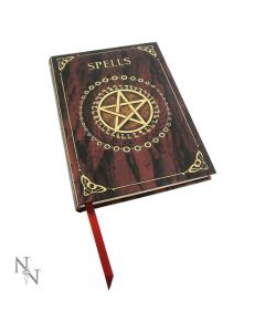 Embossed Spell Book Red 17cm Witchcraft & Wiccan Luna Lakota Artist Collections