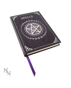 Embossed Spell Book Purple 17cm Witchcraft & Wiccan Luna Lakota Artist Collections