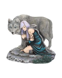 Protector (Limited Edition) (AS) 25cm Wolves Medium Figurines Artist Collections