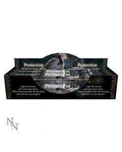 Protection Spell Lavender Incense Sticks (LP) Wolves Artist Wolves Artist Collections