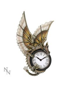 Clockwork Dragon Wall Clock (AS) 25cm Dragons Artist Dragon Clocks Artist Collections