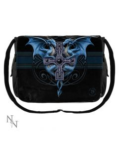 Messenger Bag Dragon Duo (AS) 40cm Dragons Artist Dragon Bags Artist Collections