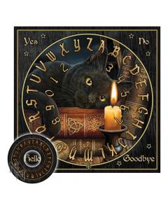 The Witching Hour Spirit Board (LP) 38.5cm Cats Lisa Parker Artist Collections
