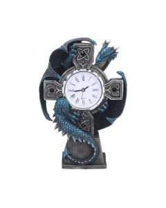 Draco Clock (AS) 17.8cm Dragons Artist Dragon Clocks Artist Collections