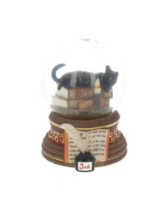 Witching Hour Snow Globe (LP) 11cm Cats Snowglobes
