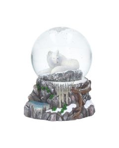 Guardian of the North Snow Globe (LP) 14.5cm Wolves Artist Collections