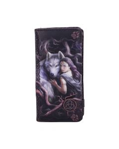Soul Bond Embossed Purse (AS) 18.5cm Wolves Mother's Day Artist Collections