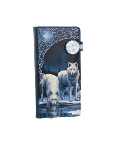 Warriors of Winter Embossed Purse (LP) 18.5cm Wolves Popular Products - Light Artist Collections