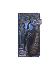 A Brush With Magick Embossed Purse (LP) 18.5cm Cats Lisa Parker Artist Collections