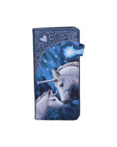 Sacred Love Embossed Purse (LP) 18.5cm Unicorns Mother's Day Artist Collections