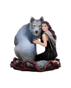 Soul Bond (AS) 17cm Wolves Medium Figurines Artist Collections