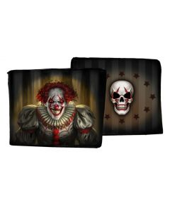 Evil Clown Wallet (JR) Horror James Ryman Artist Collections