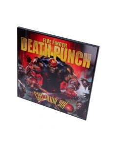 5FDP - Got Your Six Crystal Clear Picture 32cm Band Licenses Five Finger Death Punch Artist Collections