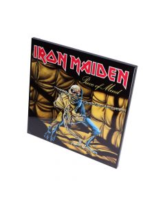 Iron Maiden-Piece of Mind Crystal Clear 32cm Band Licenses Iron Maiden