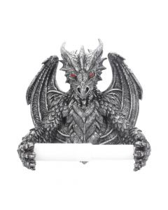 Obsidian Toilet Roll Holder Dragons De retour en stock Premium Range