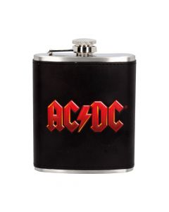 ACDC Hip Flask 7oz Band Licenses Stocking Fillers Artist Collections