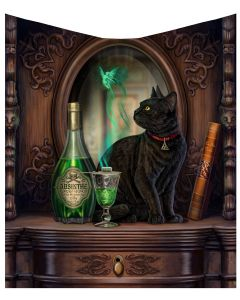 Absinthe Throw (LP) 160cm Cats Mother's Day
