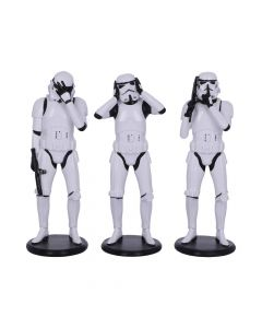 Three Wise Stormtrooper 14cm Sci-Fi Three Wise Collection Artist Collections