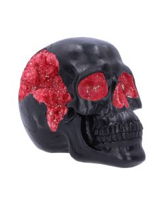 Geode Skull Red 17cm Skulls NN Medium Figurines Premium Range