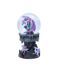 Dragon Mage Snow Globe (AS) Dragons Artist Collections