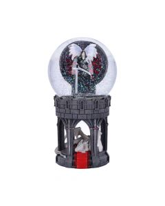 Valour Snow Globe (AS) Dragons Decorations Artist Collections