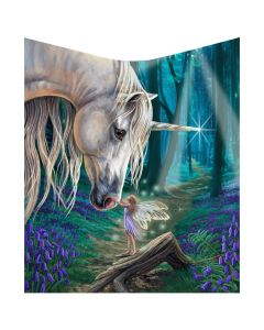 Fairy Whispers Throw (LP) 160cm Unicorns New in Stock Artist Collections