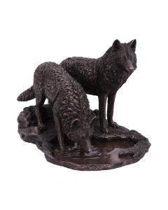 Warriors of Winter Bronze (LP) 35cm Wolves Popular Products - Light Artist Collections