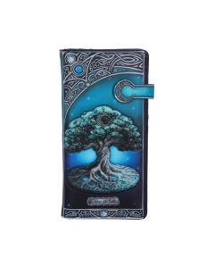 Tree of Life Embossed Purse 18.5cm Witchcraft & Wiccan Stocking Fillers Premium Range