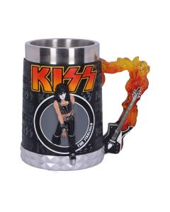 KISS Flame Range The Starchild Tankard 14.5cm Band Licenses Coming Soon Artist Collections