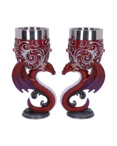 Dragons Devotion Goblets 18.5cm (Set of 2) Dragons Popular Products - Light Indéterminé