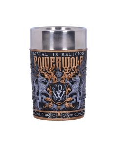 Powerwolf Metal is Religion Shot Glass 8.5cm Band Licenses New Arrivals Artist Collections