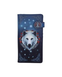 Guardian of the Fall Embossed Purse(LP) 18.5cm Wolves Artist Collections