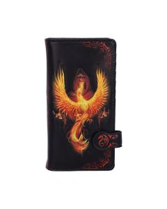Phoenix Rising Embossed Purse (AS) 18.5cm Fantasy New Product Launch Artist Collections