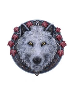 Guardian of the Fall Wall Plaque (LP) 29cm Wolves De retour en stock Artist Collections