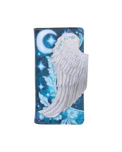 Angel Wings Embossed Purse 18.5cm Angels New Product Launch Artist Collections