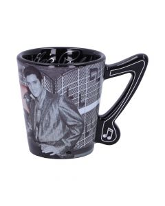 Espresso Cup - Elvis - Cadillac Famous Icons Mug Collection - Licensed Art Artist Collections
