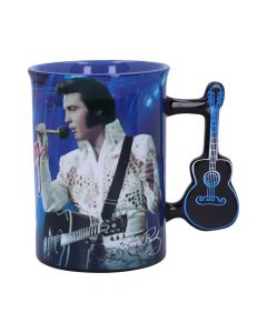 Mug - Elvis The King of Rock and Roll Famous Icons New Arrivals Premium Range