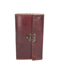 Leather Journal with Lock 14cm x 23cm Witchcraft & Wiccan Witchcraft & Wiccan Premium Range