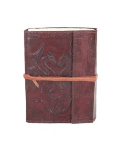 Double Dragon Leather Embossed Journal 12.5 x 18cm Dragons Dragons Premium Range