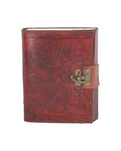 Greenman Leather Embossed Journal & Lock 15 x 20cm Tree Spirits Tree Spirits Premium Range