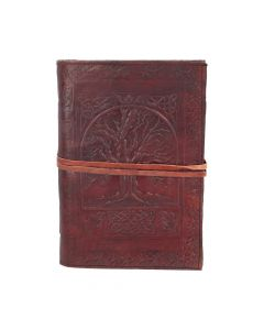 Tree Of Life Leather Embossed Journal 18 x 25cm Witchcraft & Wiccan Witchcraft & Wiccan Premium Range