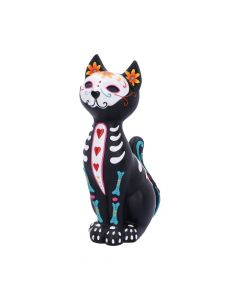 Sugar Puss 26cm Cats Day of the Dead Premium Range