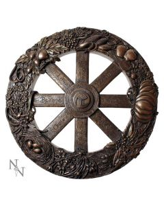 Wheel Of The Year Plaque 25cm Witchcraft & Wiccan Witchcraft & Wiccan Premium Range