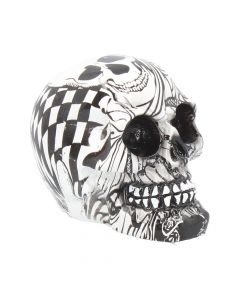 Abstraction (Small) 8cm (Pack of 6) Skulls Skulls (Premium) Premium Range