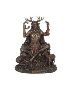 Cernunnos and Animals 23cm Witchcraft & Wiccan Maiden, Mother, Crone Premium Range