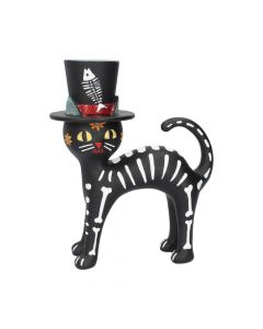 Cat in a Hat 20.7cm Cats Figurine moyen (15cm à 29cm) Premium Range