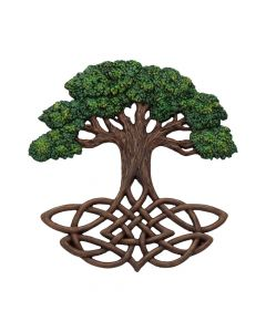 Tree of Life Wall Plaque (Painted) 33cm Witchcraft & Wiccan Popular Products - Light Premium Range